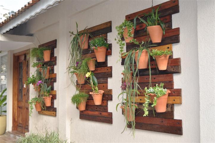 Tu organizas pequenos jardins em sacadas - Decorar hogar barato ...