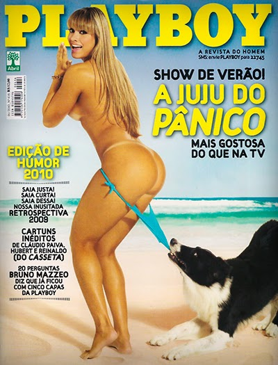 Juliana Salimeni - Revista Playboy