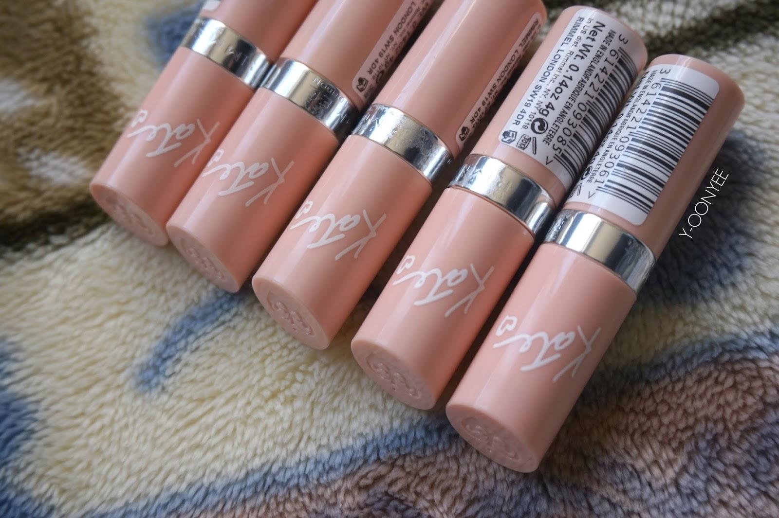 Rimmel provokativer nude Lippenstift