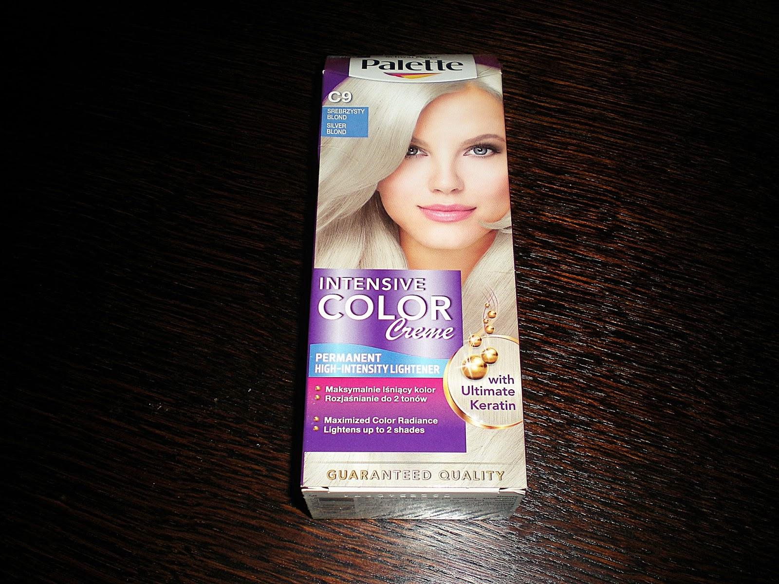 Palette Intensive Color Creme z płynną keratyną odcień C9