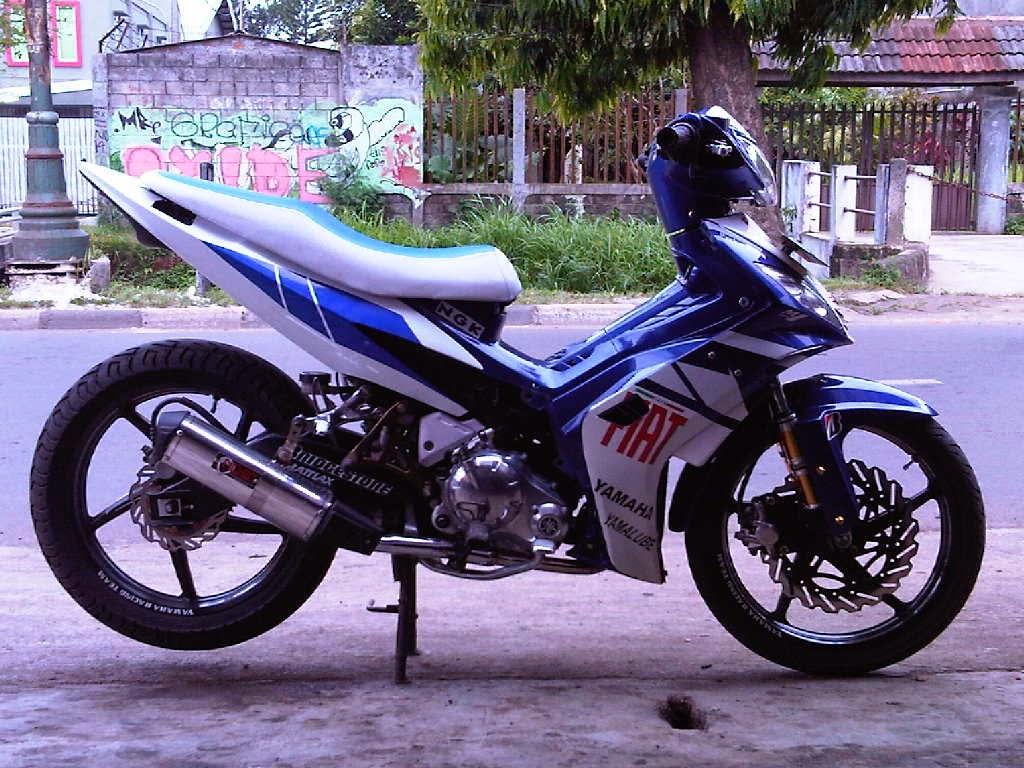 modifikasi motor jupiter mx new 135 cc terbaru - sukaon