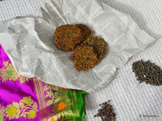 Tirupati Urad Pepper Vada