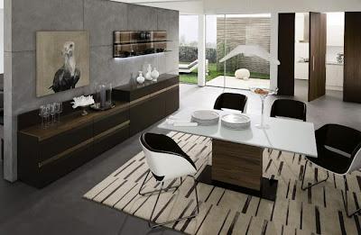 Diseño de Comedores Modernos por Hülsta