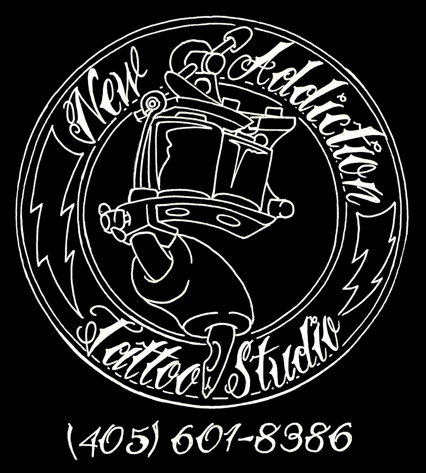 Tattoo Shop Logo New addiction tattoo studio