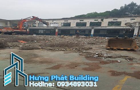 Công ty chuyên phá tháo dỡ nhà xưởng cũ Hưng Phát