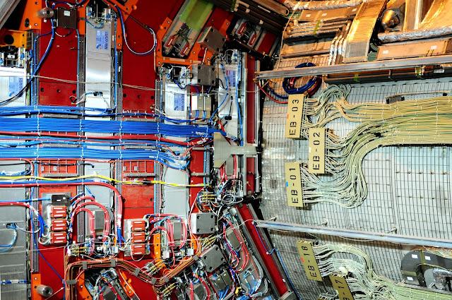 acelerador de partículas foto CERN Ginebra