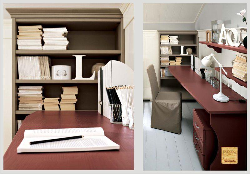 Arredamento e casa lo scrittoio arredare la camera for Camera da letto e studio