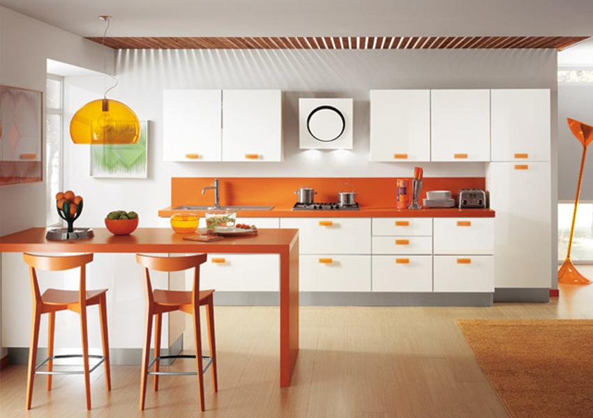 Cocina Home: Barra americana, la solución para unir espacios.
