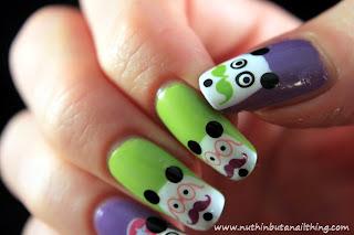 movember nail art