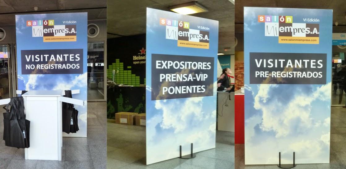 acceso visitantes, registro, ponentes, prensa, vip