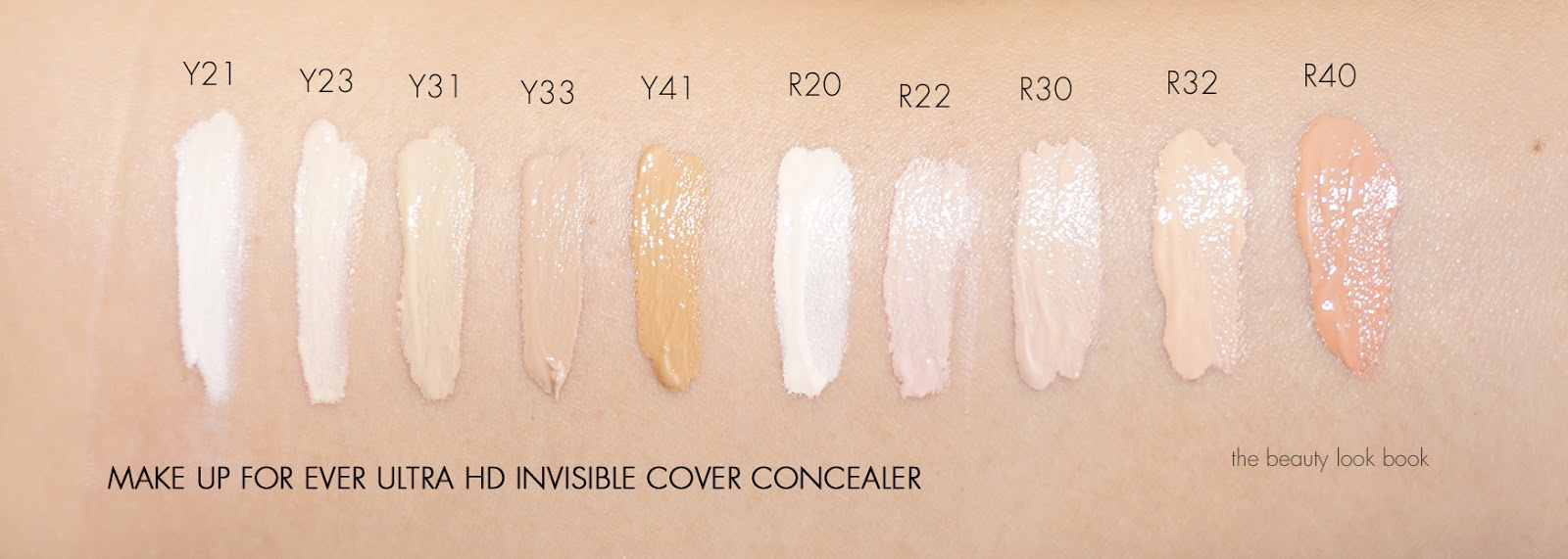 Make Up For Ever Ultra Hd Concealer The Beauty Look Book