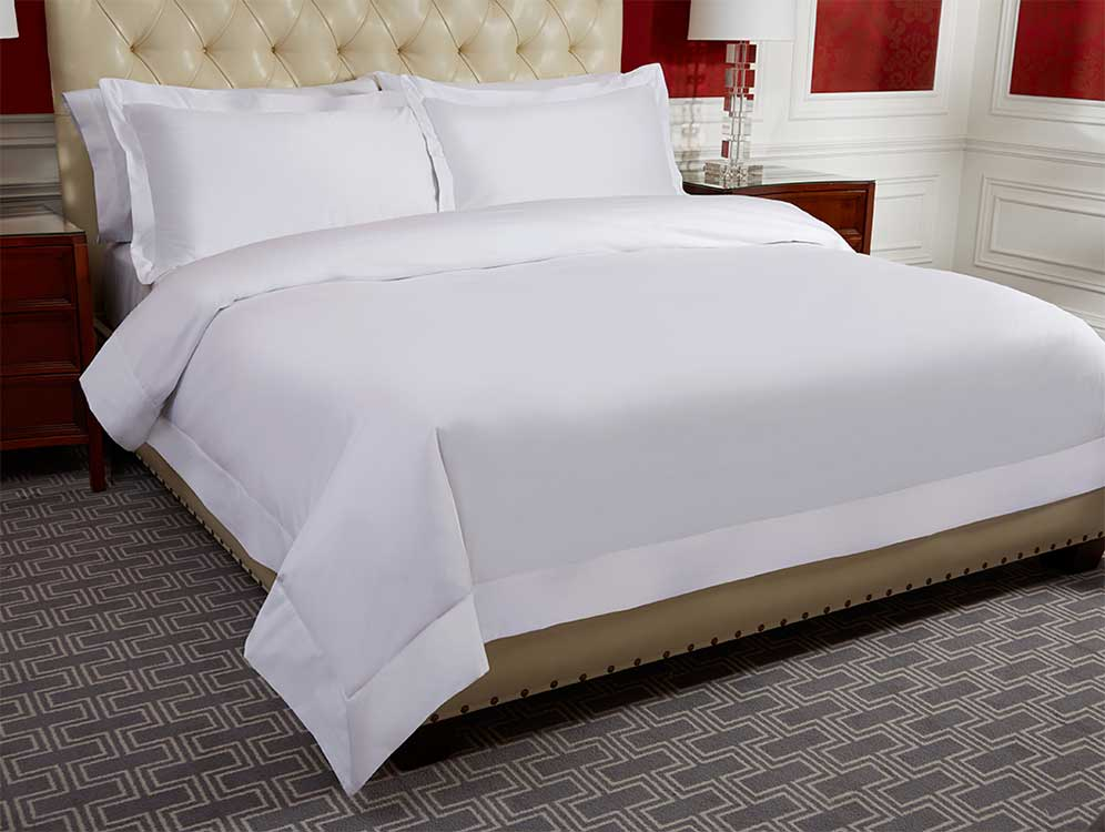 Duvet covers were designed to protect your duvet from stains, dirt, and dust while also doubling as a convenient way to add a splash of style to your bedroom. In our store, you'll discover duvet covers in every color and pattern, which makes it simple to match the cover to your current tastes.
