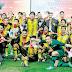 Penyokong Indonesia Menangis di Stadium Gelora Bung Karno Jakarta.