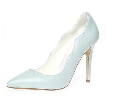 Dorothy Perkins plain blue pumps