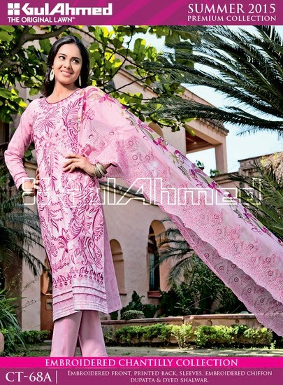 Chantilly De Chiffon Summer Collection by Gul Ahmed 2