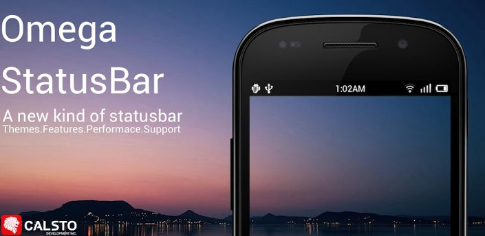 cool status bar for android