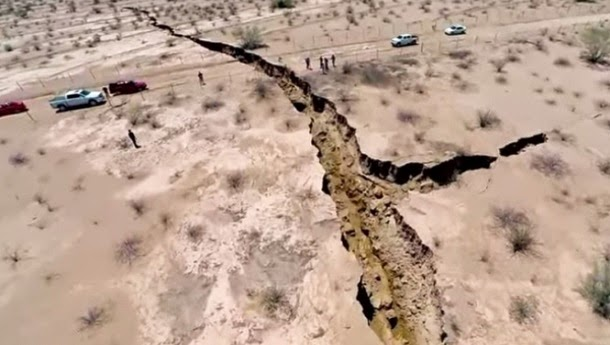 Fenda misteriosa no México intriga cientistas