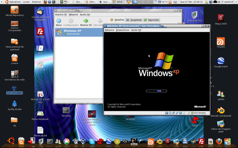 Introducci n a m quina virtual sistemas operativos for Que es una pagina virtual