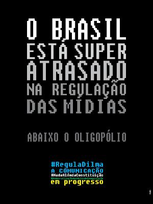 O Brasil está super atrasado...