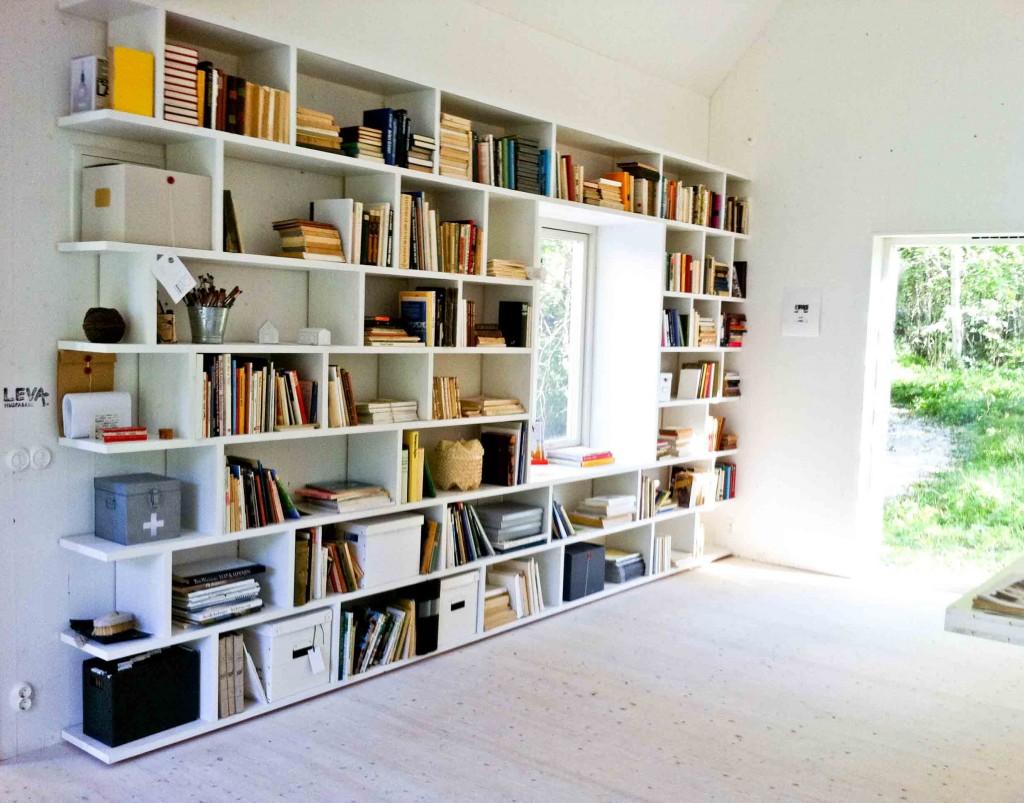 Darling Things Platsbyggd bokhylla