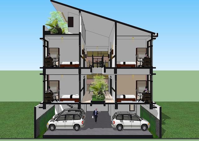 rumah kos minimalis