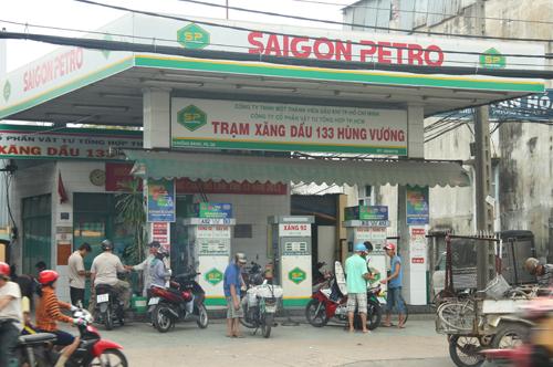 Hệ thống quảng cáo trạm xăng ở Tp HCM