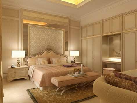 desain kamar tidur utama klasik