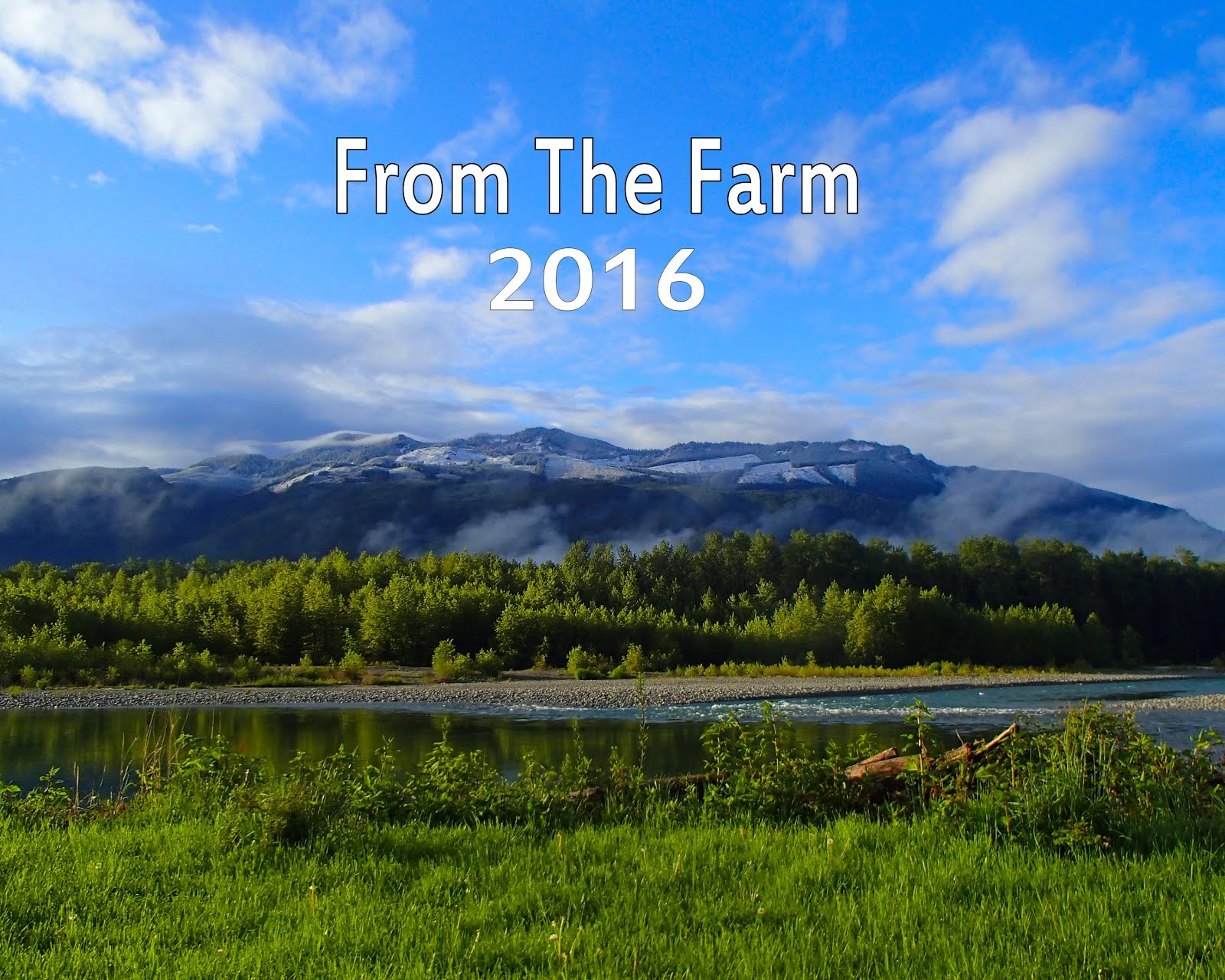 From The Farm 2016 Calendar