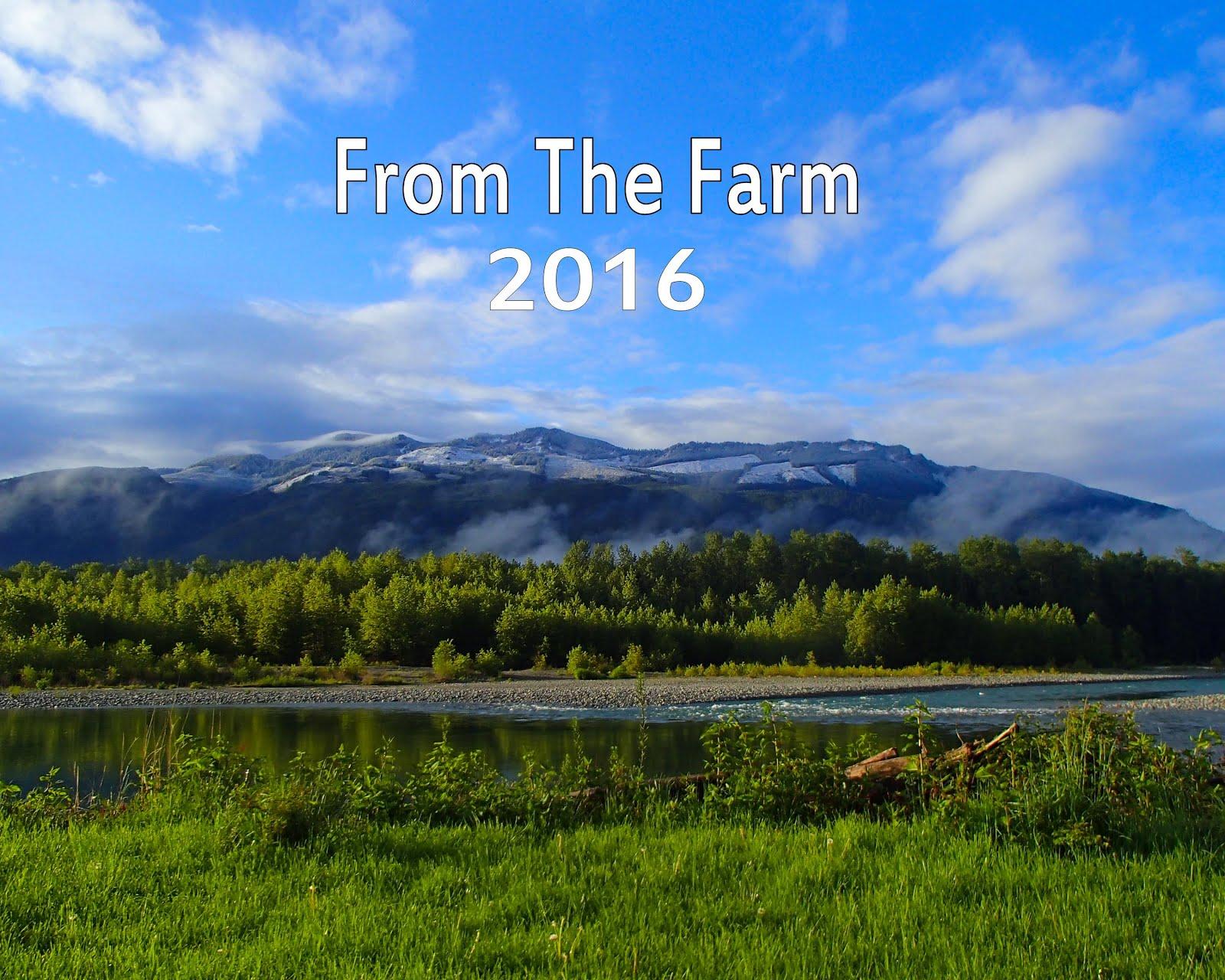 From The Farm 2016 Calendar