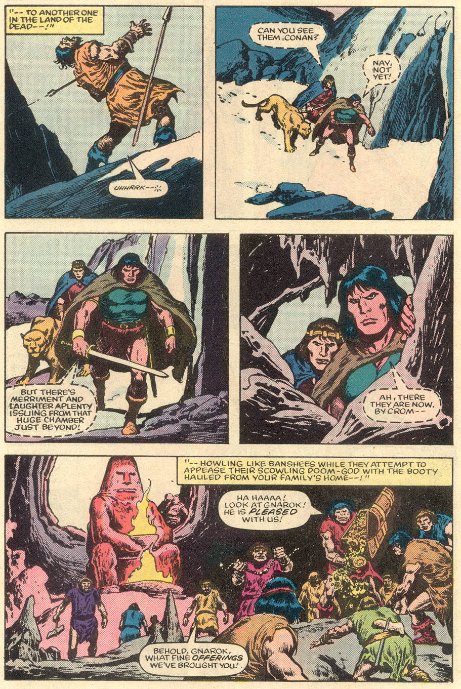 Conan the Barbarian (1970) Issue #151 #163 - English 19