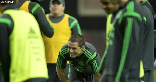 Así jugará México contra Nigeria