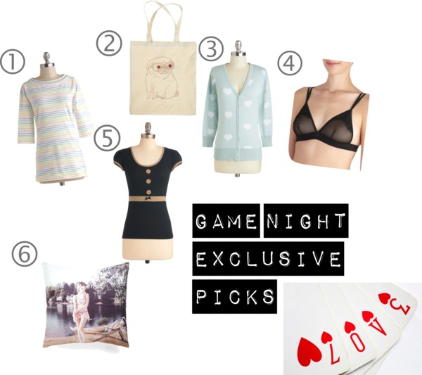modcloth.com, Modcloth wishlist, wish list, favorite picks, tops, shirts, pillow, cardigans, bra, Winston tote, A Coin For the Well