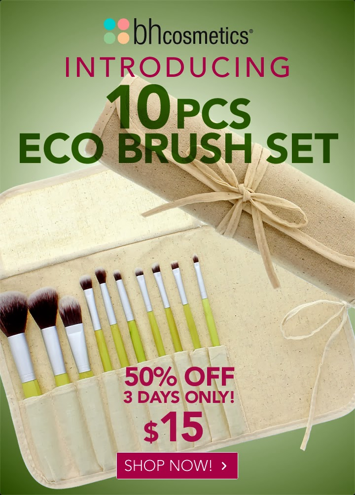 BH Cosmetics Eco Brushes
