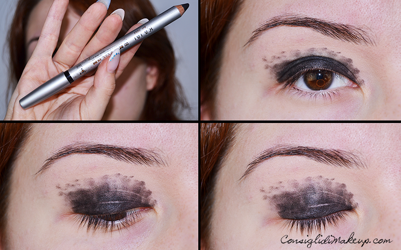 tutorial smoky eyes nero