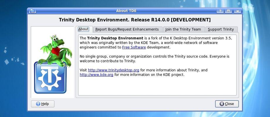 Trinity Desktop Environment R14.0.0
