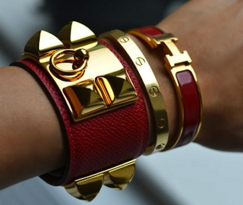 Fashionably Brokeass Hermes Clic Clac
