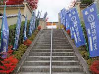勝林寺は、東福寺塔頭寺院の一つで毘沙門天を祀っている。