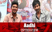 """Aadhi – """"I would love to do a romantic subject"""""""