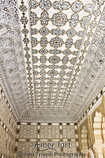 Sheesh Mahal - Amer Fort - clicked by Isha Trivedi