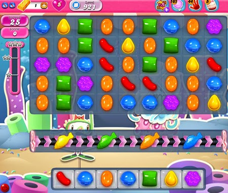 Candy Crush Saga 921