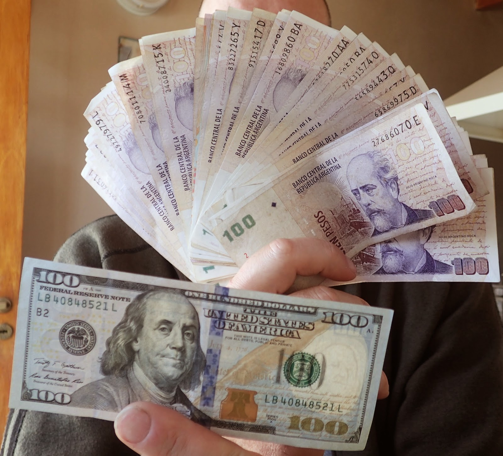 blue dollar argentina