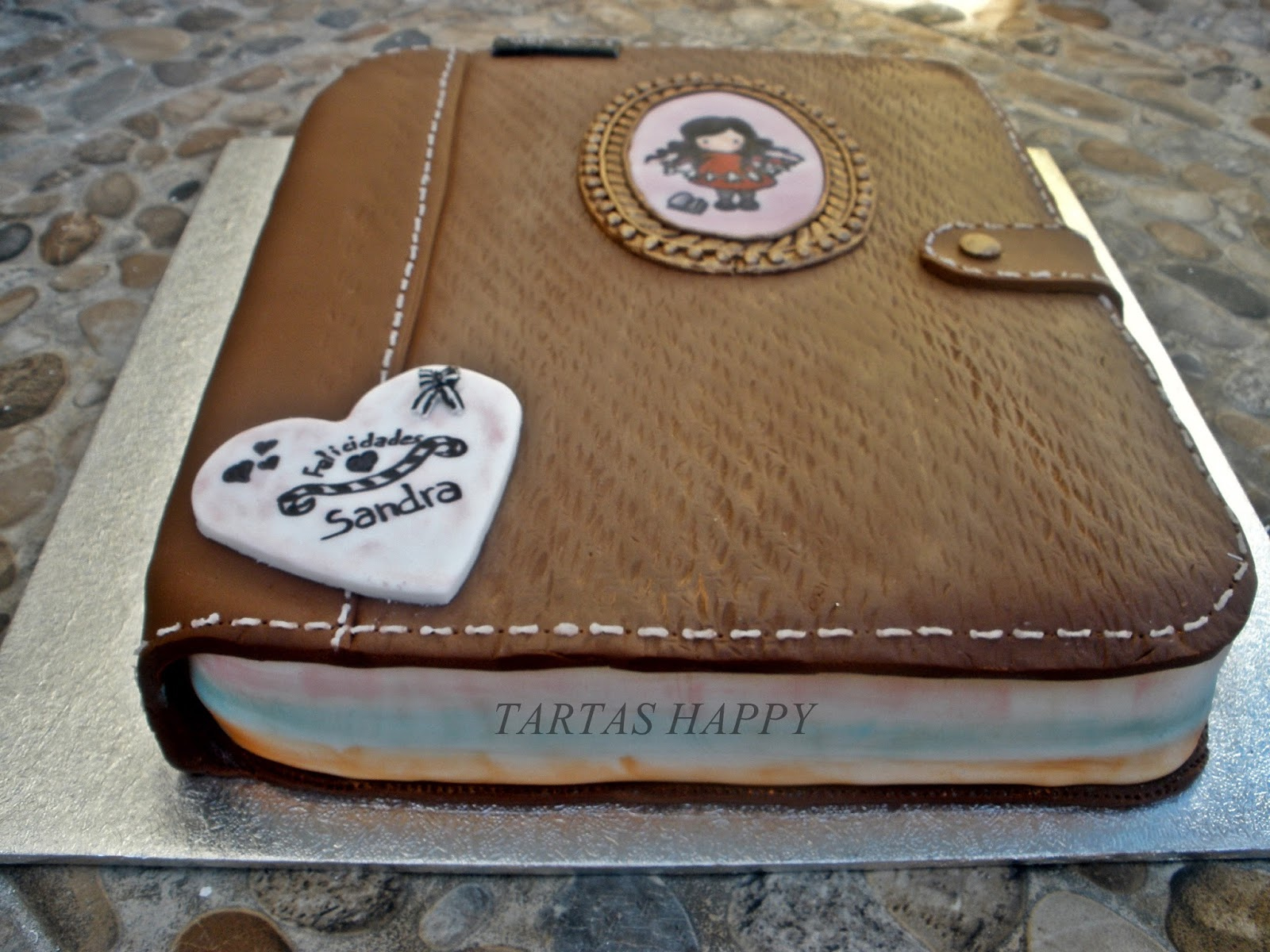 Tartas happy tarta agenda mu eca gorjuss regalo para mi hermana - Que regalar a tu hermana ...