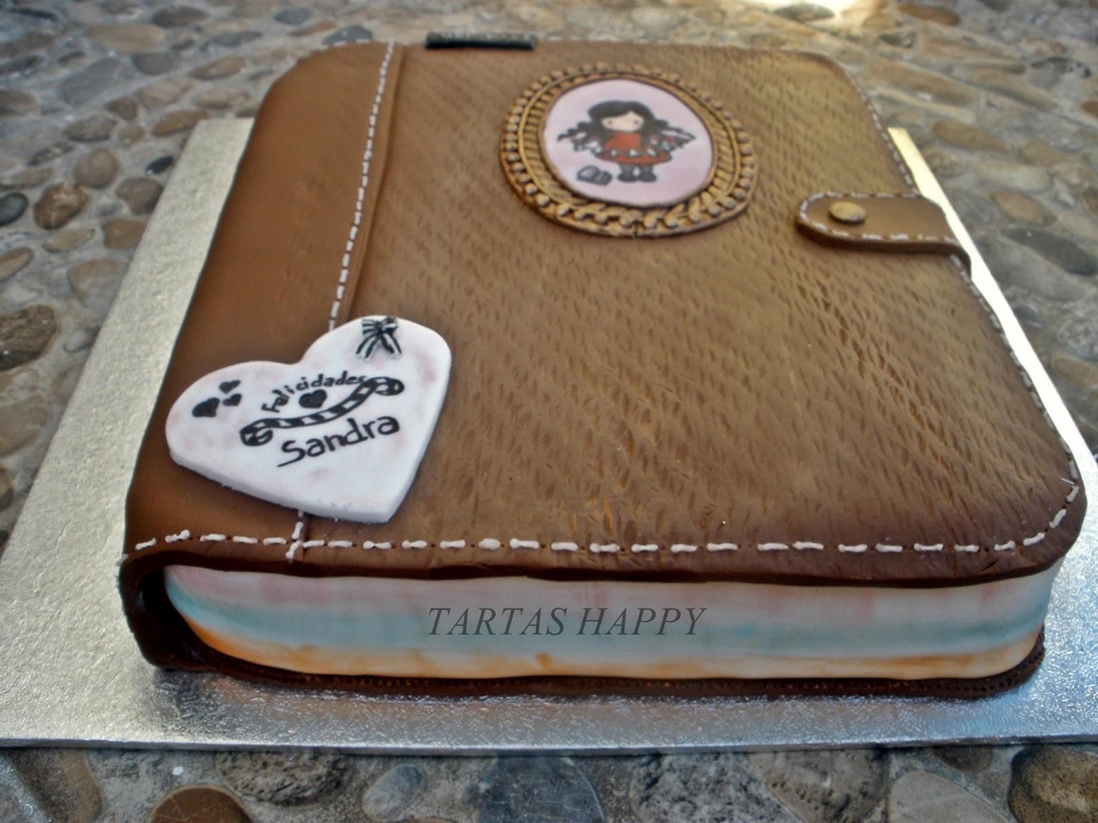 Tartas happy tarta agenda mu eca gorjuss regalo para mi for Regalos para hermanas