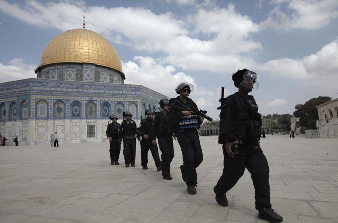 Polisi Yahudi Larang Muslim Beribadah di Dome of the Rock
