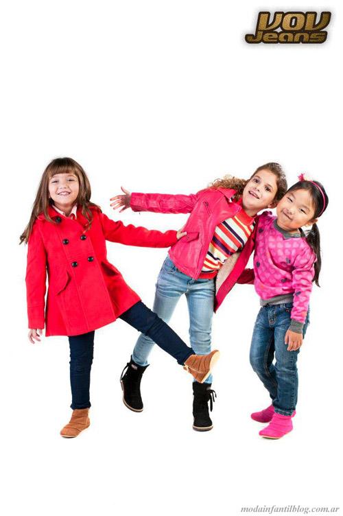 abrigos niñas invierno 2013 vov jeans