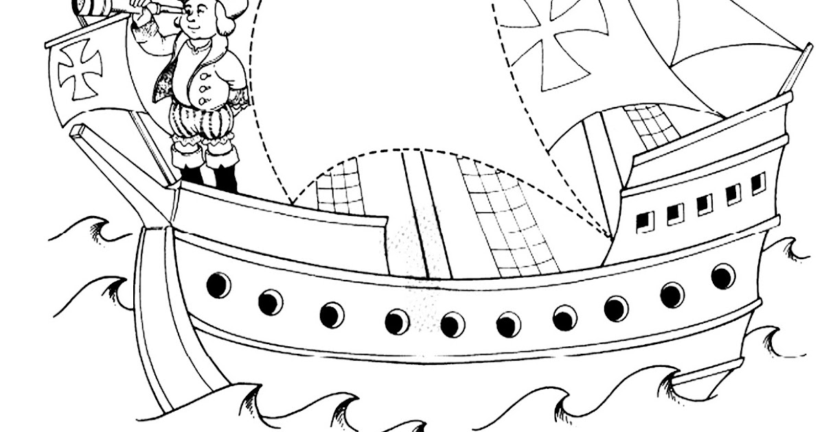 Pinto dibujos 12 de octubre para colorear for Comedores 12 de octubre