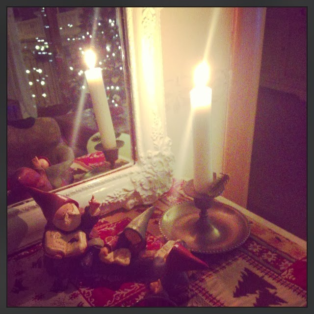 Advent Calendar & [ Before and After ] [Una parete ]- shabby&countrylife.blogspot.it