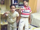 Meus filhos,Kaique e Cauan