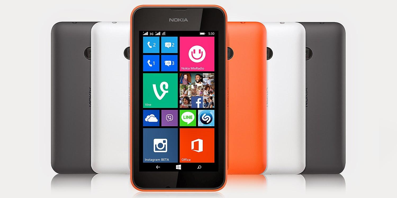 Smartphone Nokia Lumia 530