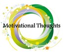 Motivational thoughts vector art
